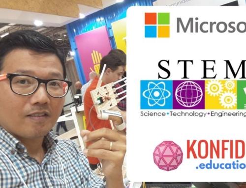Hacking STEM Microsoft na Bett Brasil 2018