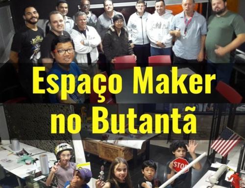 Espaço Maker no Butantã